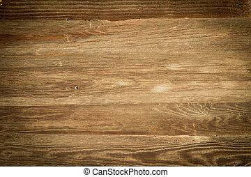 a, antigas, textura madeira, com, padrões naturais