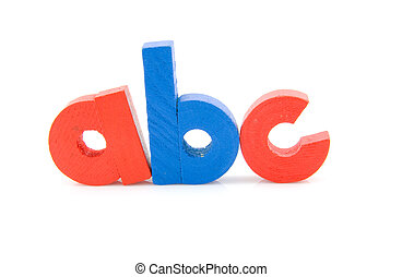 a b c letters