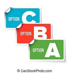 a, b, c, lettres, barre progrès