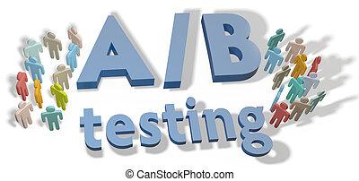 A B Testing marketing experiment - A B Testing website ...