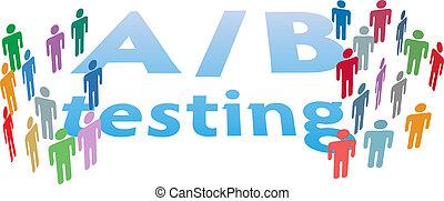 a, b, wahlmöglichkeit, pr�fung, marketing, leute