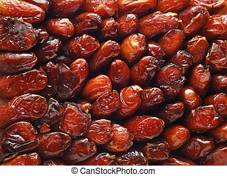 dates - a background of dried dates
