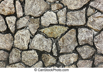 background of the stone wall,