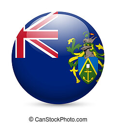 A badge in colours of Pitcairn islands flag