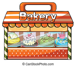 A bakery selling baked goods