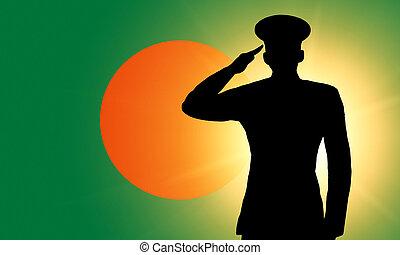 a, bandeira bangladesh