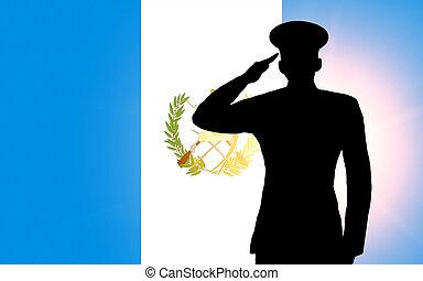 a, bandeira guatemala