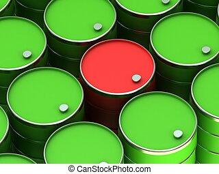 A barrels