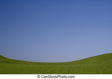 a, beauthy, de, azul verde