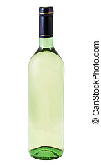 A beautiful bottle of water on a white background