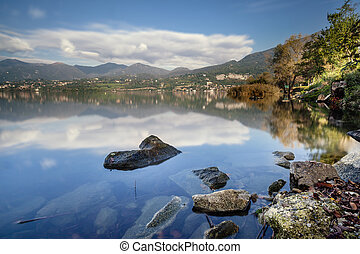 A beautiful day at the lake
