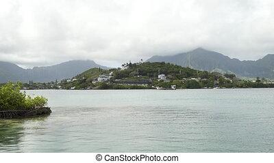 A beautiful island on the sea