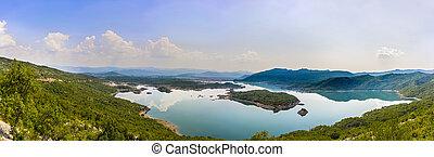 A beautiful lake in Bosnia Herzegovina