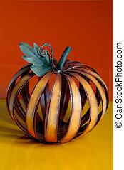 beautiful metal pumpkin