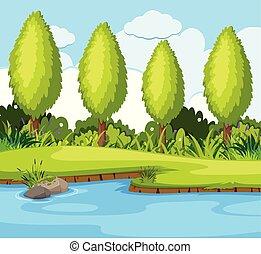 A beautiful nature background