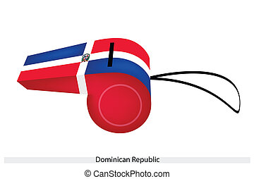 A Beautiful Whistle of The Dominican Republic