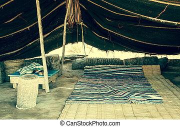 A Berber tent in Matmata, Tunisia,Africa