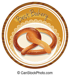 A best bakery label