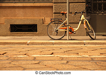 A Bicycle in Milan