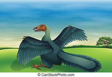 A big bird - Illustration of a big bird
