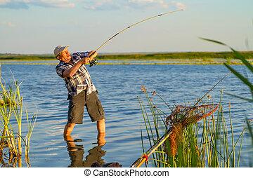 a big catch