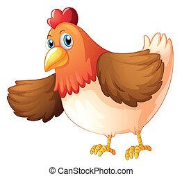 A big fat hen