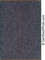 jeans - a big file of jeans material with a seam on sides -...