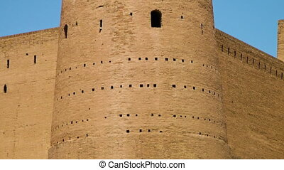 A big fortification of the Alexander the Great Fortress. - A...