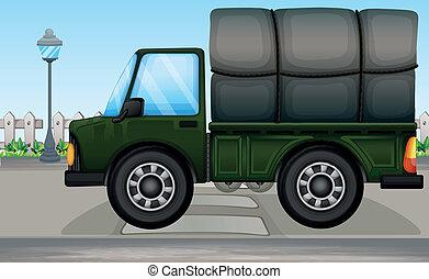 A big truck