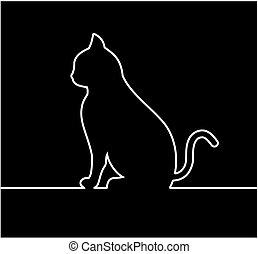 a black cat online