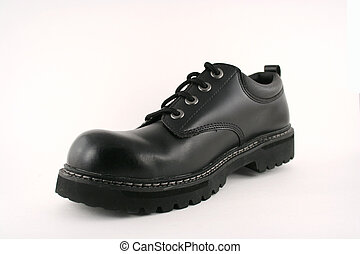 Black Mens Shoe