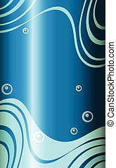 A blue abstract wallpaper