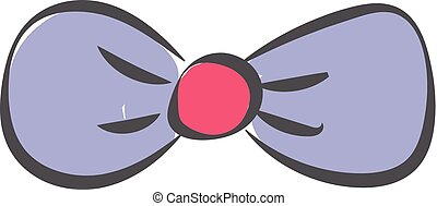 A blue butterfly vector or color illustration