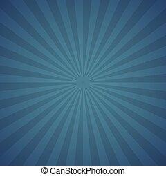 A Blue color burst background.