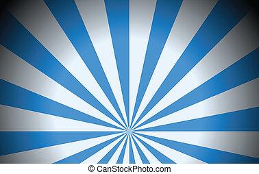 A blue pattern