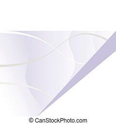 A blue vector business card template