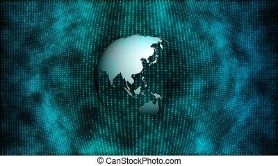 A blue world