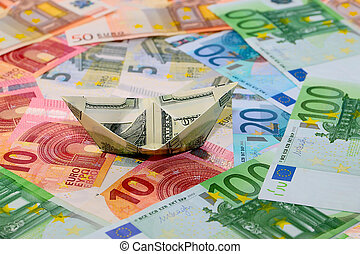 background of the euro