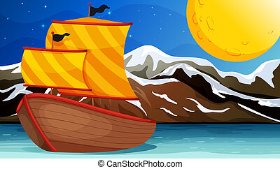 A boat