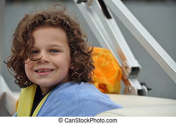 a boat ride and a smile