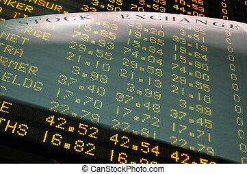 a, bolsa de valores
