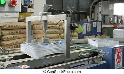 a book orientation machine