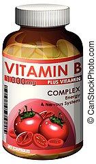 A Bottle of Vitamin B
