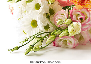 a bouquet of beautiful flowers