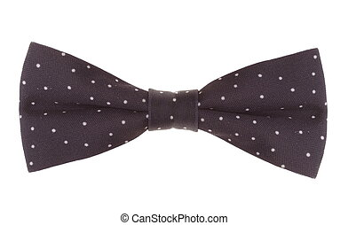 a bow-tie on white background
