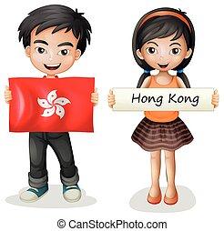 A Boy and Girl from Hong Kong