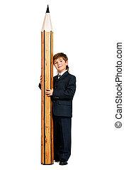 huge pencil