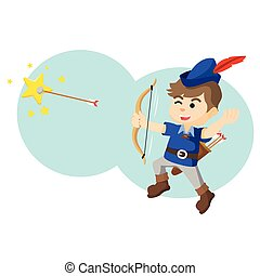 a boy was shot with an arrow star