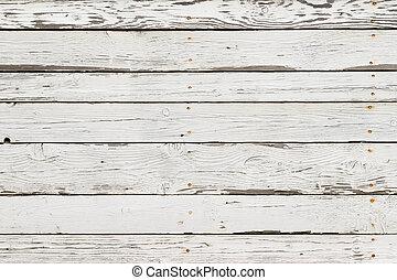 a, branca, textura madeira, com, padrões naturais, fundo