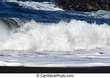 a breaking wave